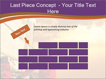 Sailor And Golden Sunset PowerPoint Template - Slide 46
