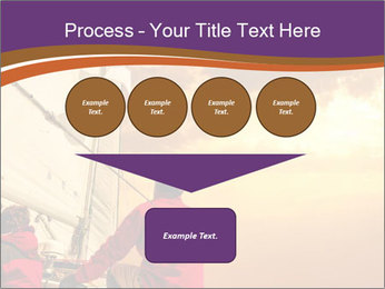 Sailor And Golden Sunset PowerPoint Template - Slide 93
