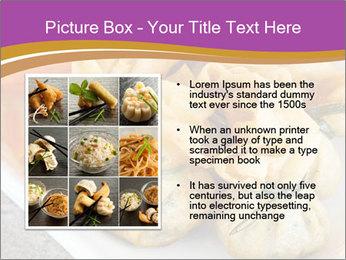 Fried pork dumplings PowerPoint Template - Slide 13