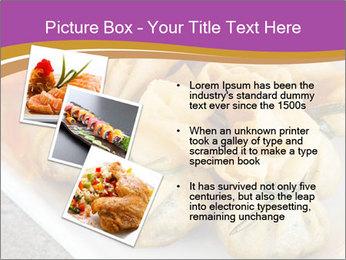 Fried pork dumplings PowerPoint Template - Slide 17