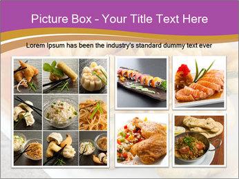 Fried pork dumplings PowerPoint Template - Slide 19