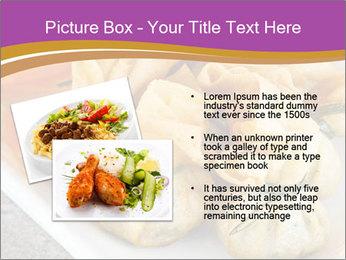 Fried pork dumplings PowerPoint Template - Slide 20