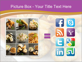Fried pork dumplings PowerPoint Template - Slide 21