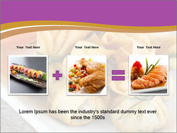 Fried pork dumplings PowerPoint Template - Slide 22