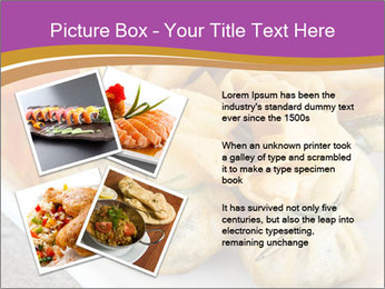 Fried pork dumplings PowerPoint Template - Slide 23