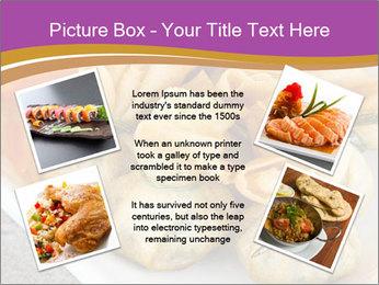 Fried pork dumplings PowerPoint Template - Slide 24