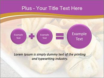 Fried pork dumplings PowerPoint Template - Slide 75