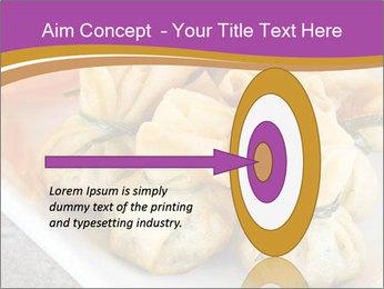 Fried pork dumplings PowerPoint Template - Slide 83