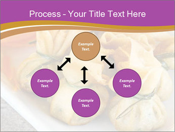 Fried pork dumplings PowerPoint Template - Slide 91