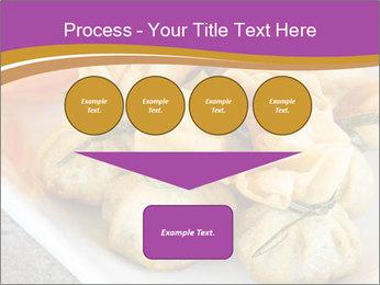 Fried pork dumplings PowerPoint Template - Slide 93