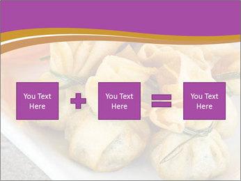 Fried pork dumplings PowerPoint Template - Slide 95