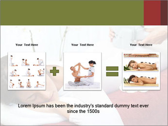 Therapist applying lipo massage PowerPoint Template - Slide 22