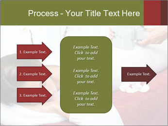 Therapist applying lipo massage PowerPoint Template - Slide 85