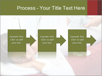 Therapist applying lipo massage PowerPoint Template - Slide 88