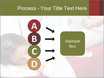 Therapist applying lipo massage PowerPoint Template - Slide 94