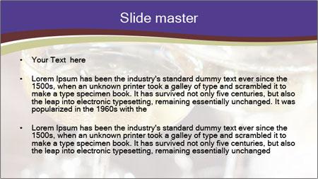 Three glasses PowerPoint Template - Slide 2