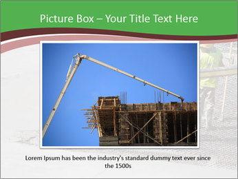 Workers pouring concrete PowerPoint Templates - Slide 15