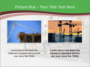 Workers pouring concrete PowerPoint Templates - Slide 18
