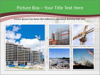 Workers pouring concrete PowerPoint Templates - Slide 19