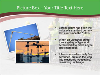 Workers pouring concrete PowerPoint Templates - Slide 20