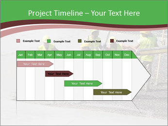 Workers pouring concrete PowerPoint Templates - Slide 25