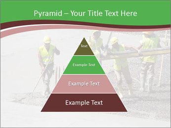 Workers pouring concrete PowerPoint Templates - Slide 30