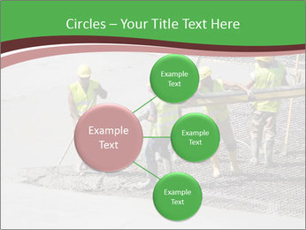 Workers pouring concrete PowerPoint Templates - Slide 79