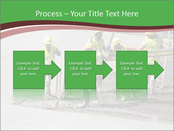 Workers pouring concrete PowerPoint Templates - Slide 88