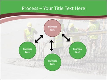 Workers pouring concrete PowerPoint Templates - Slide 91