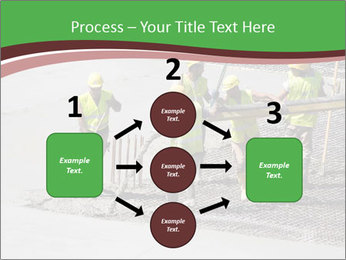 Workers pouring concrete PowerPoint Templates - Slide 92