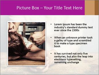 Praying man PowerPoint Template - Slide 13