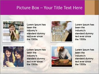 Praying man PowerPoint Template - Slide 14
