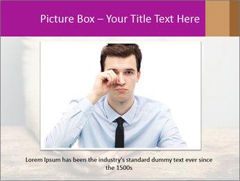 Praying man PowerPoint Template - Slide 15