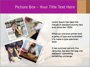 Praying man PowerPoint Template - Slide 23