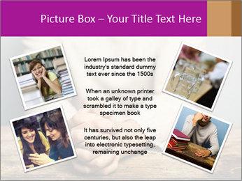 Praying man PowerPoint Template - Slide 24