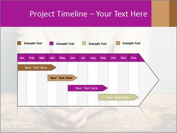 Praying man PowerPoint Template - Slide 25