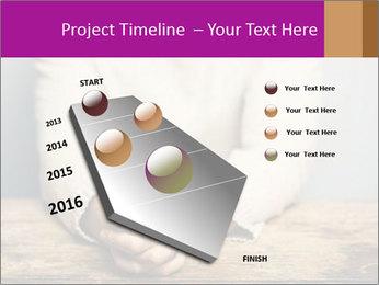 Praying man PowerPoint Template - Slide 26