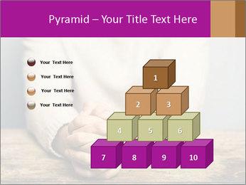 Praying man PowerPoint Template - Slide 31