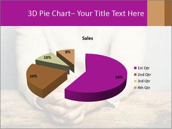 Praying man PowerPoint Template - Slide 35