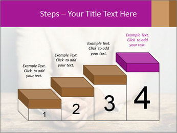 Praying man PowerPoint Template - Slide 64