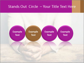 Praying man PowerPoint Template - Slide 76