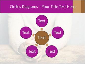 Praying man PowerPoint Template - Slide 78