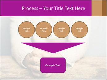 Praying man PowerPoint Template - Slide 93