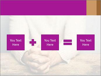 Praying man PowerPoint Template - Slide 95