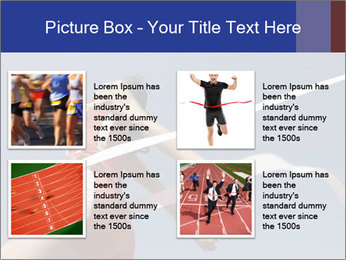 Low angle view PowerPoint Template - Slide 14