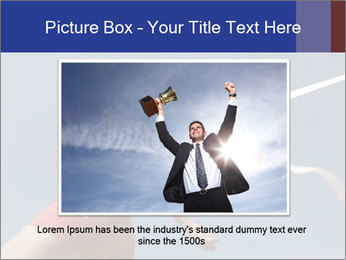 Low angle view PowerPoint Template - Slide 15
