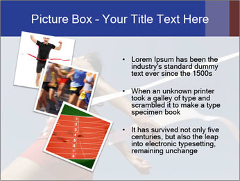 Low angle view PowerPoint Template - Slide 17