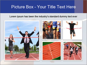 Low angle view PowerPoint Template - Slide 19