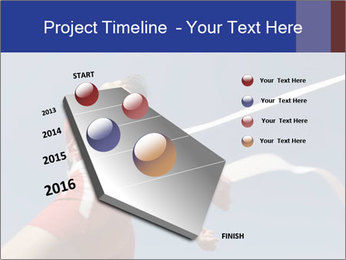 Low angle view PowerPoint Template - Slide 26