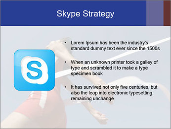 Low angle view PowerPoint Template - Slide 8